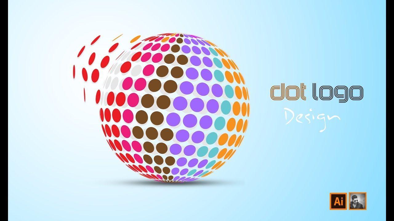 How to Make Dot logo Design in Adobe illustrator | Ju Joy