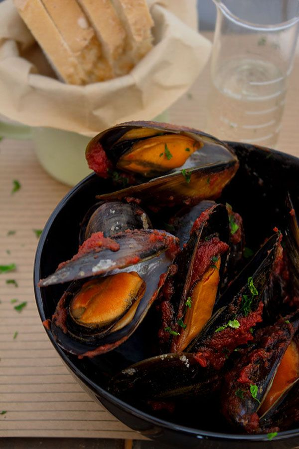 Circus day: Mejillones Bloody Mary