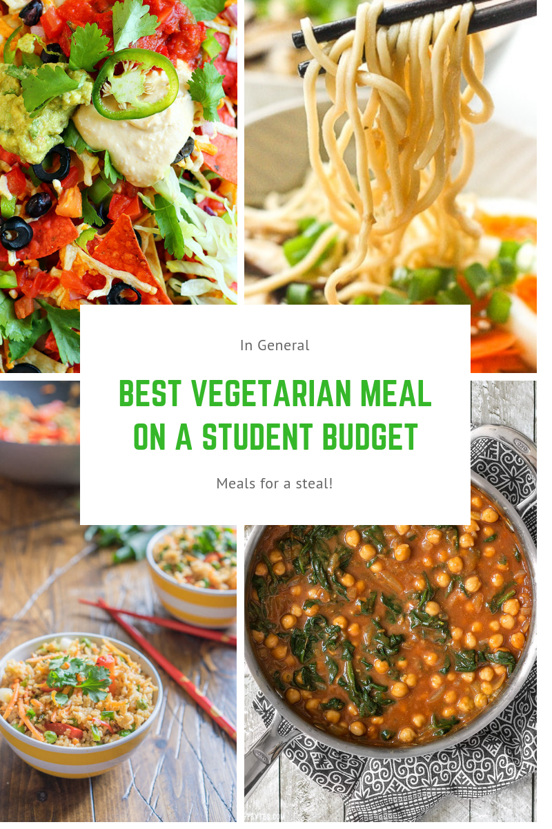 Best Vegetarian Meals on a Student Budget images