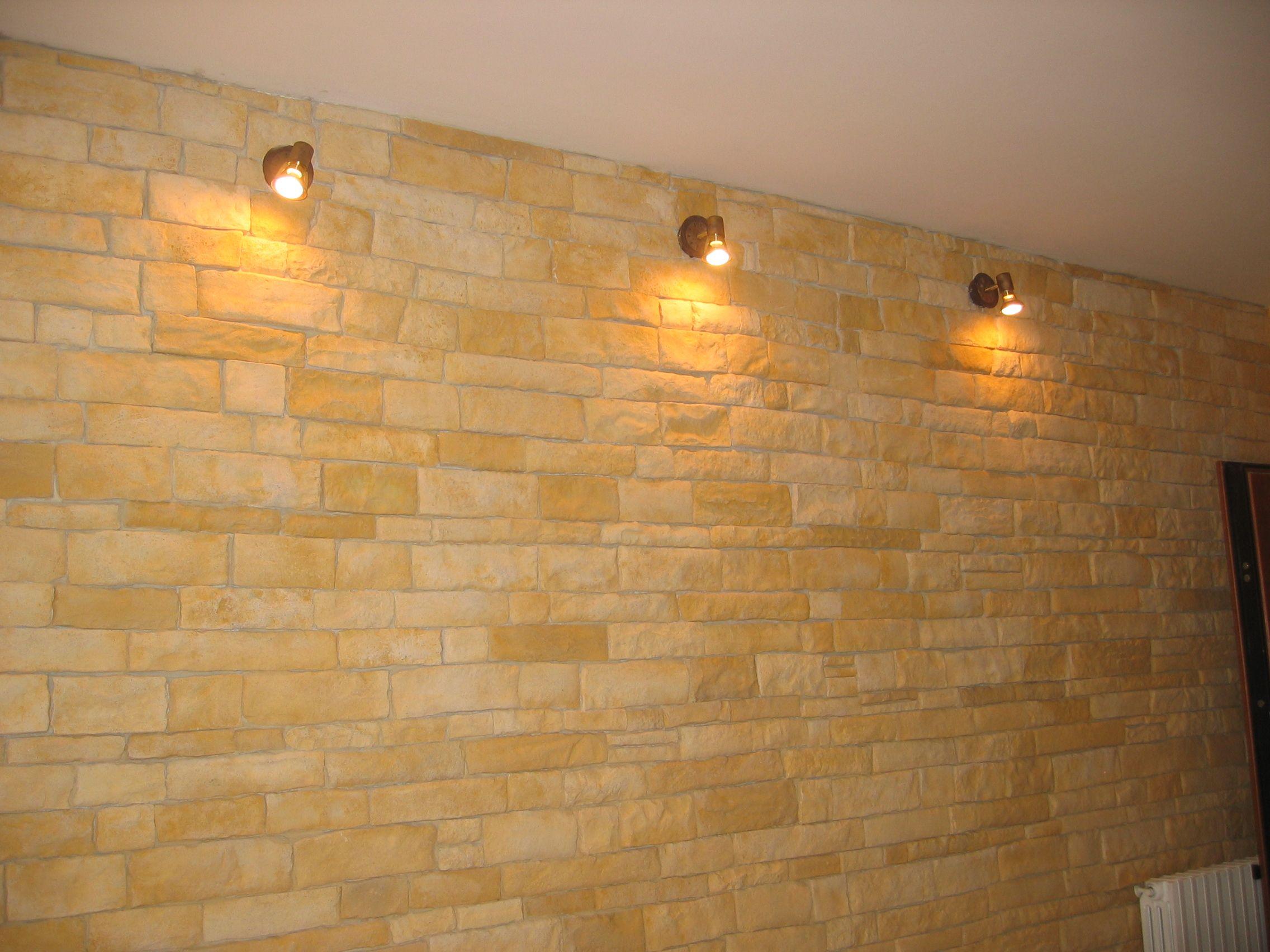 Illuminazione soggiorno parate pietra cerca con google salone