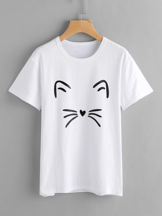 FIND T-Shirt Col V Femme Lot de 2