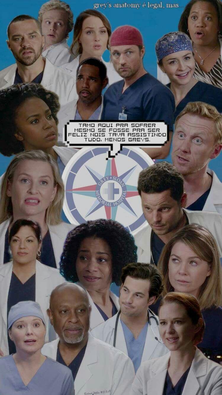 Lockscreen Greys Anatomy Series Tv Show Shonda Collage