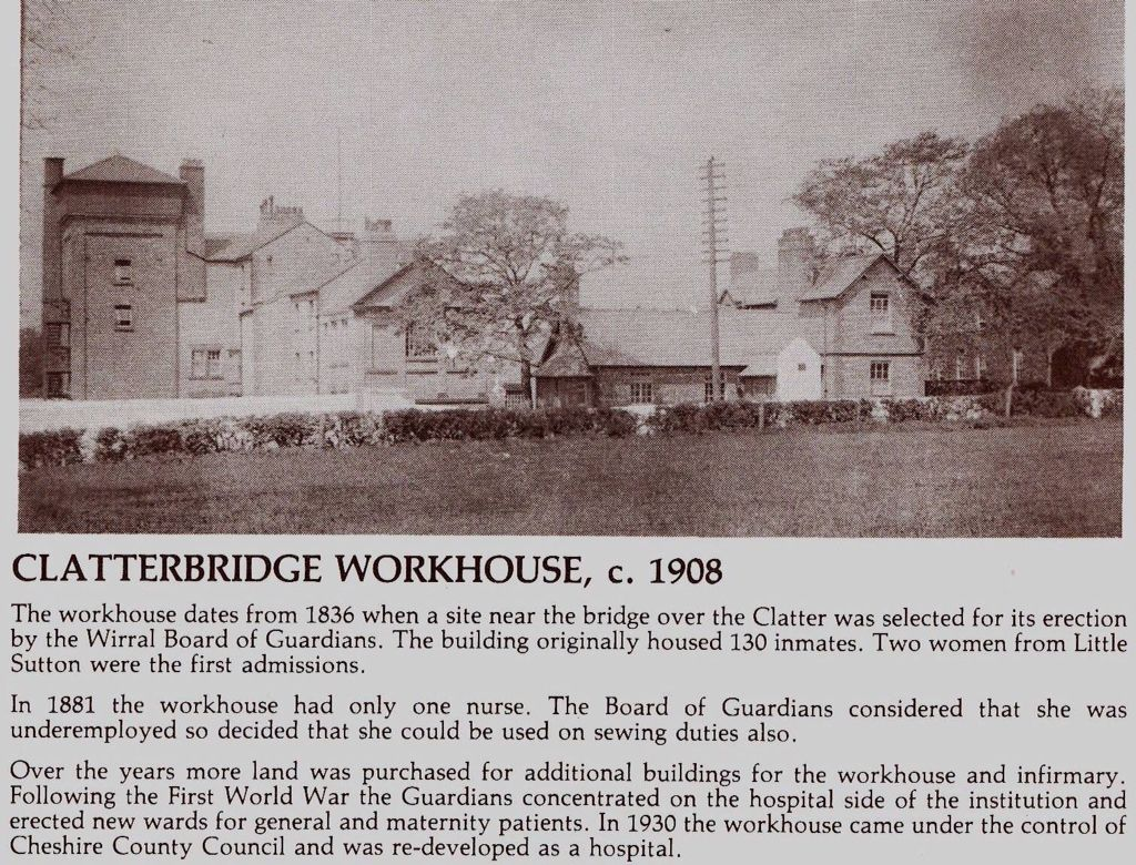 What became Clatterbridge Hospital.