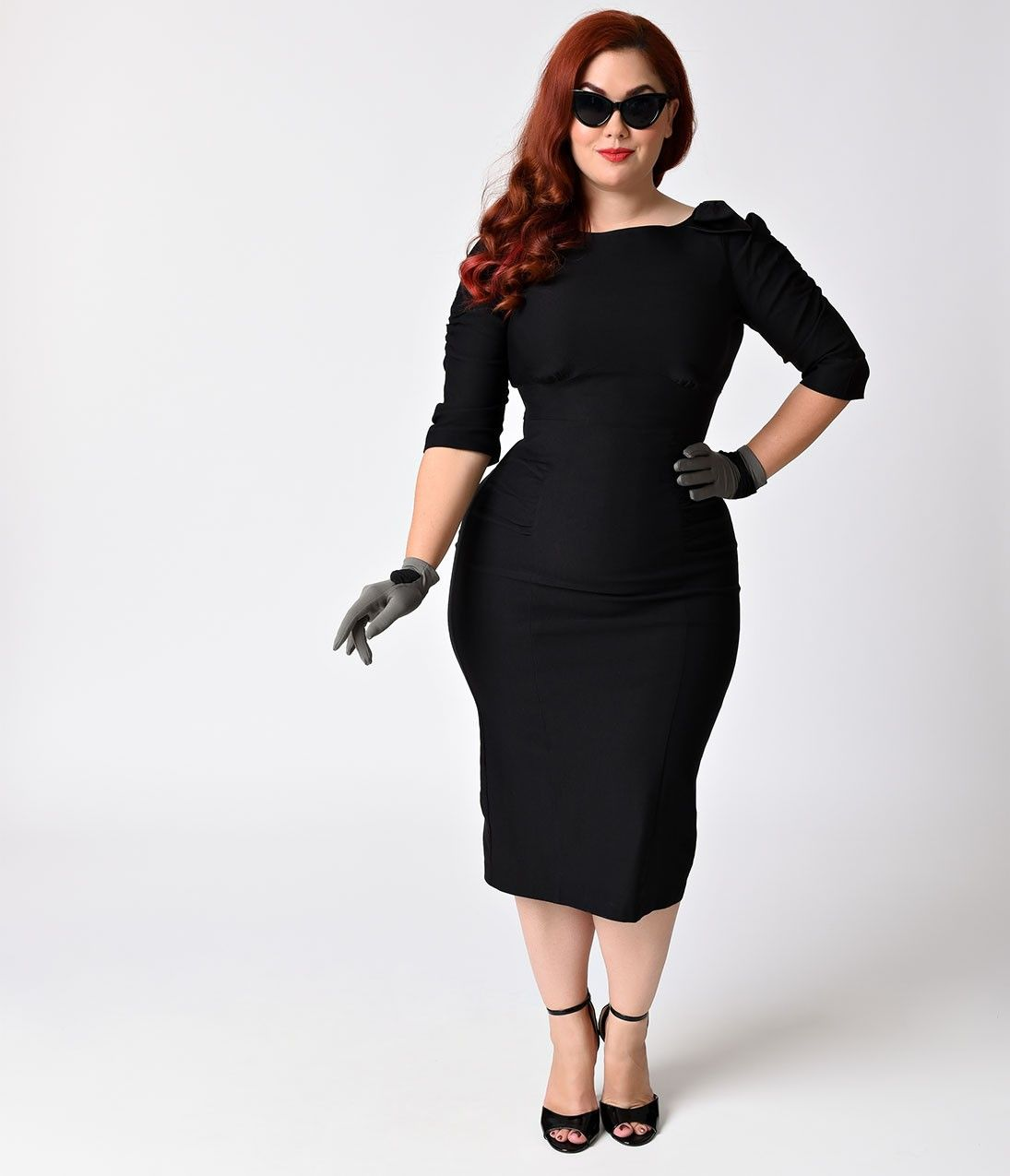 Stop staring dresses plus size