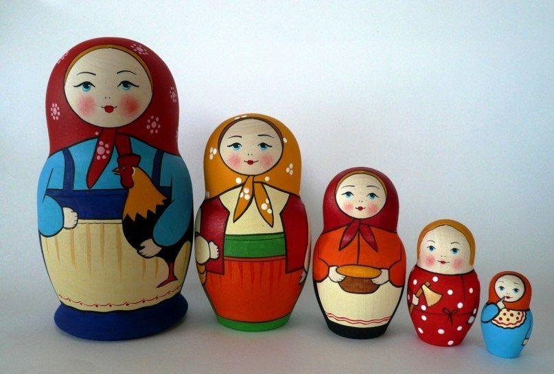 Matryoshka Doll-symbol of Russian brides-4