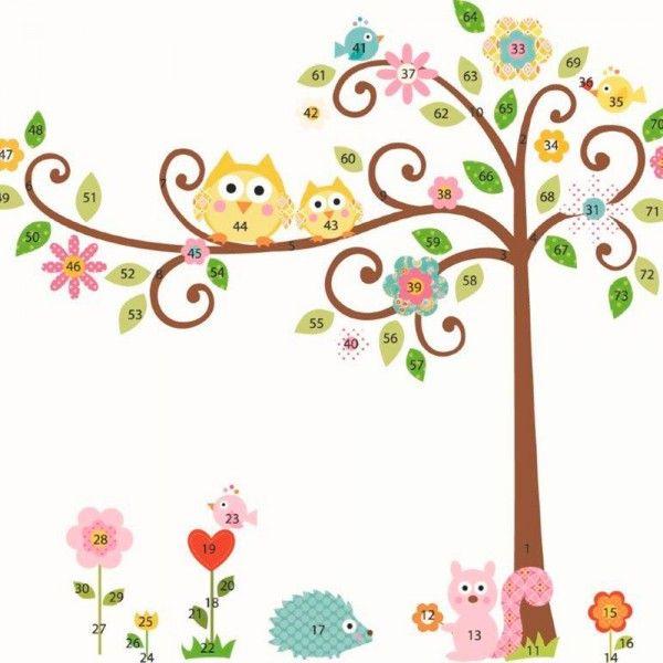 Vinilo decorativo para la habitacion del bebe rmk1439slm 2 - Vinilo arbol infantil ...