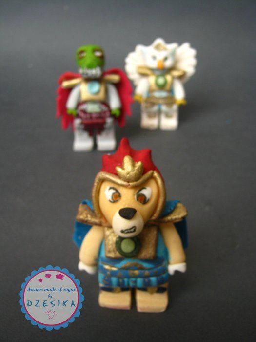 Lego Chima Birthday Cake Topper