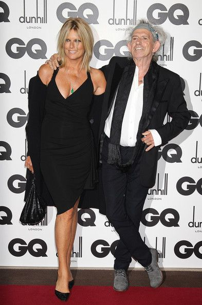 Keith Richards & Patti Hansen at the GQ Men Of The Year Awards 2011