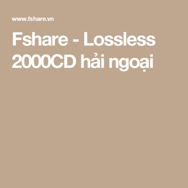 album lossless fshare