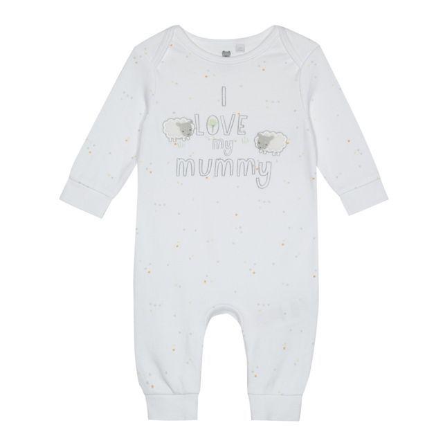 bluezoo Baby Boys I Love My Daddy Sleep Suit