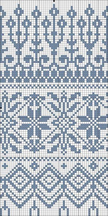Pin by Антонида on ЖАККАРД. | Pinterest | Fair isle knitting ...