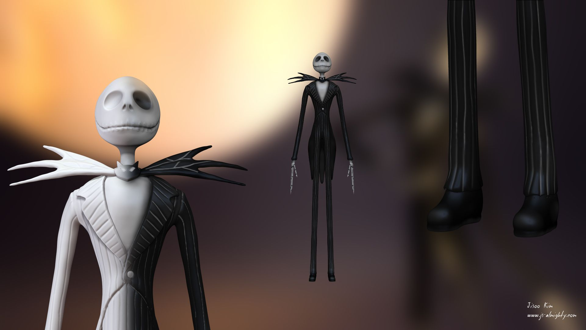 Jack Skellington – The Nightmare Before Christmas ZBrush sculpting ...