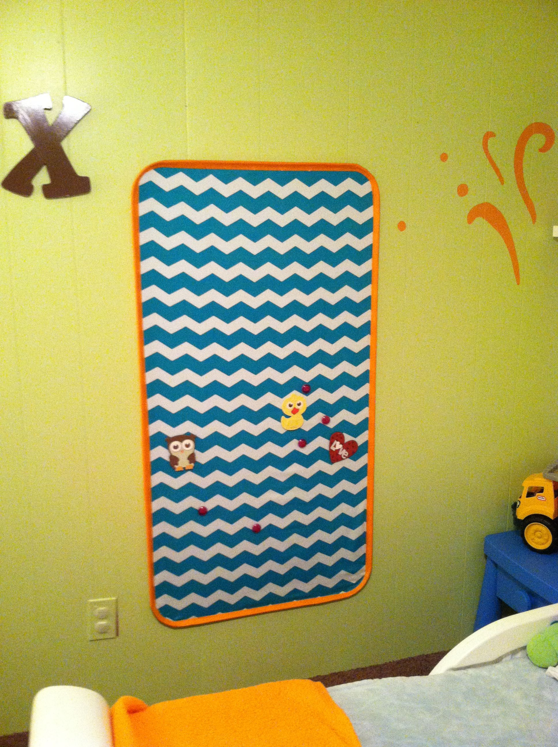 Kids Magnet Board Lg Oil Drip Pan From Wal Mart Covered