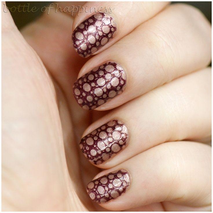 Beautiful Bridal Nail Art - http://yournailart.com/beautiful-bridal-nail-art/ - #nails #nail_art #nail_design #nail_polish