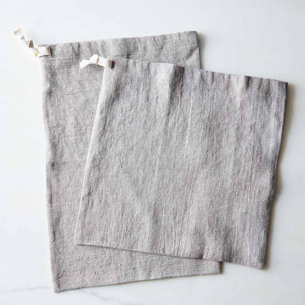 Linen Bread Bags (Set of 2)   Linens, Bag and Zero waste