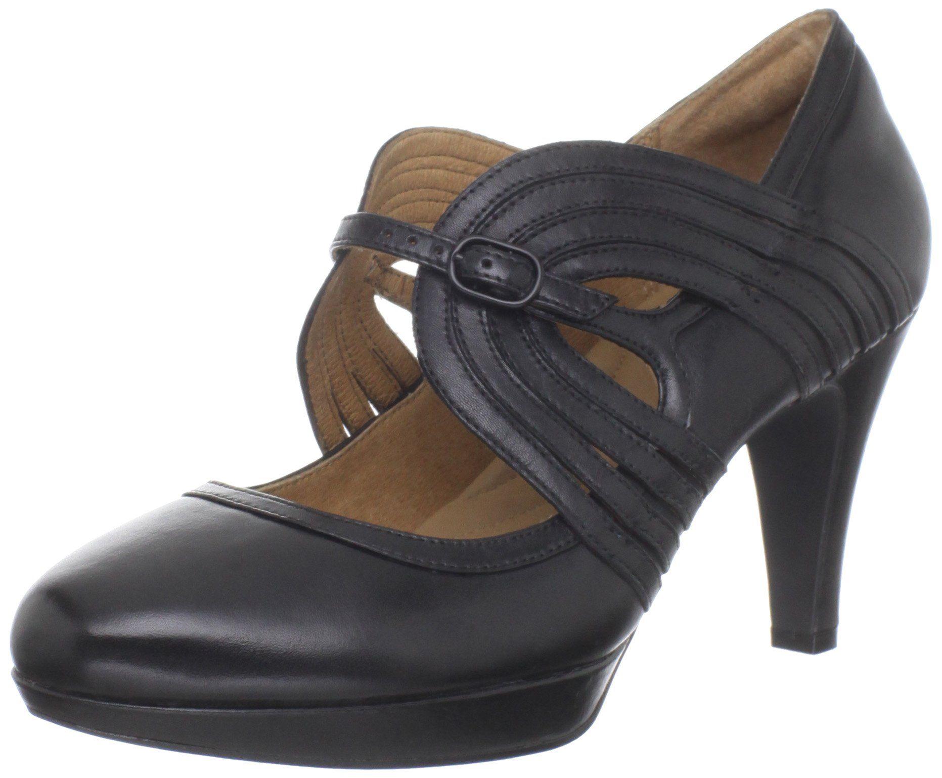 Womens Shoes Clarks Narine Mia Dark Grey Leather