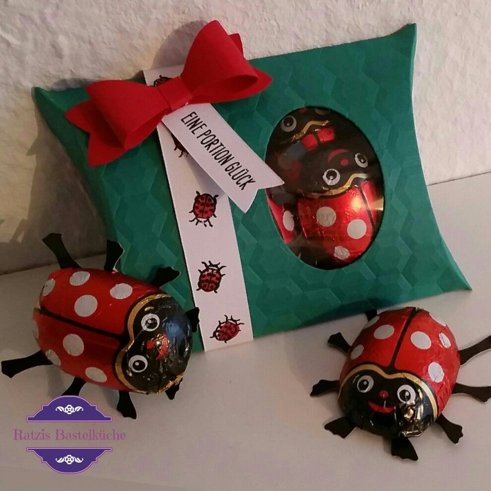Pillow Box Basteln beetles beetlesandbugs käfer basteln papierbasteln papercraft