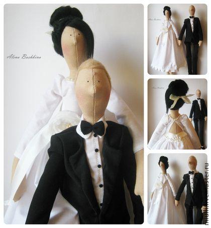 """hecho a mano de la boda pareja """"Alto sentido"""".  Hecho a mano."""