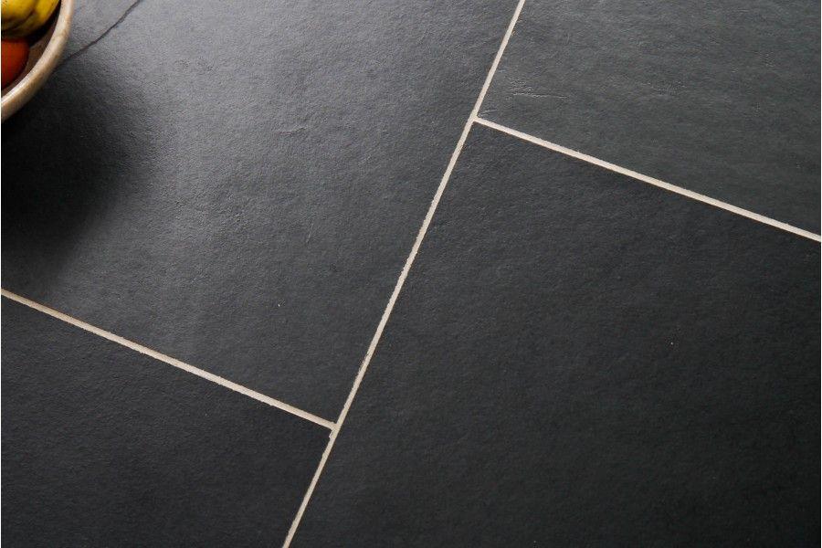 Brazilian Black Slate Tiles Loved Ptc Project Pinterest Slate