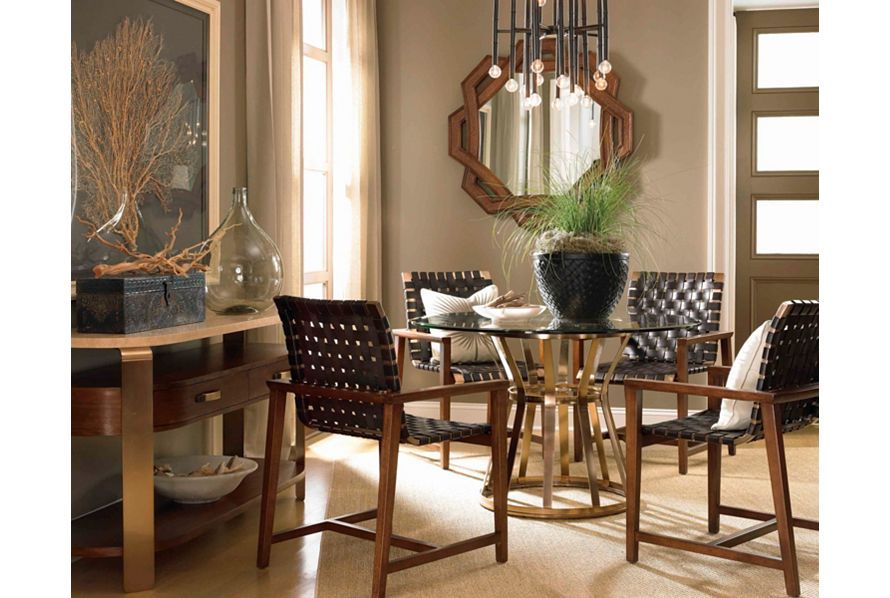 Voussoir Pedestal Dining Table Base from Drexel Heritage dine diningroom home homedecor homeinspo living house dinner diningroominspo inspiration