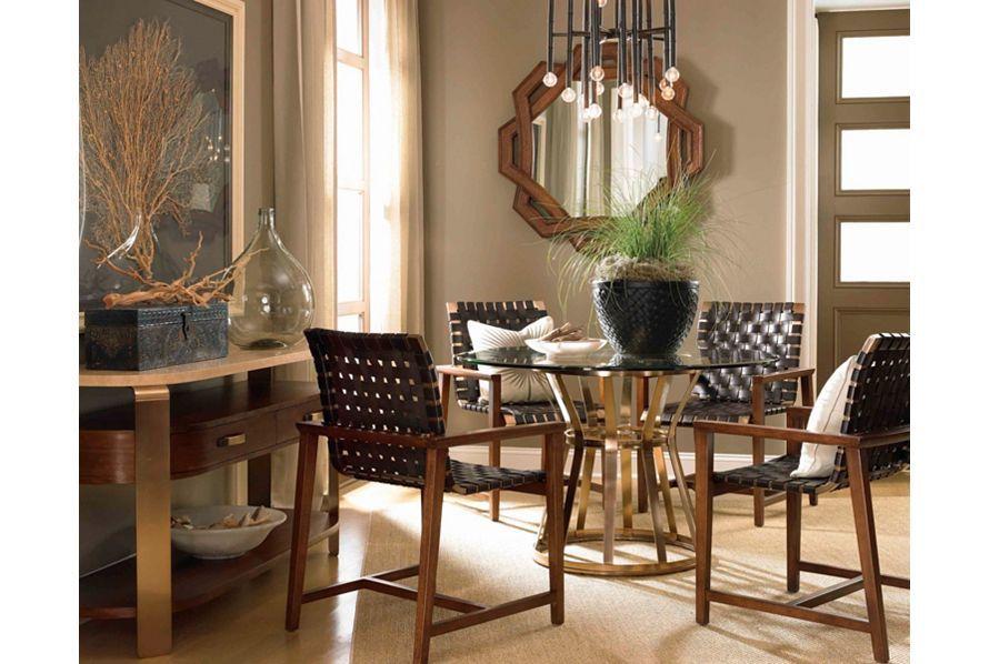 Voussoir Pedestal Dining Table Base  Drexel Heritage  Dining Cool Heritage Dining Room Furniture Inspiration Design