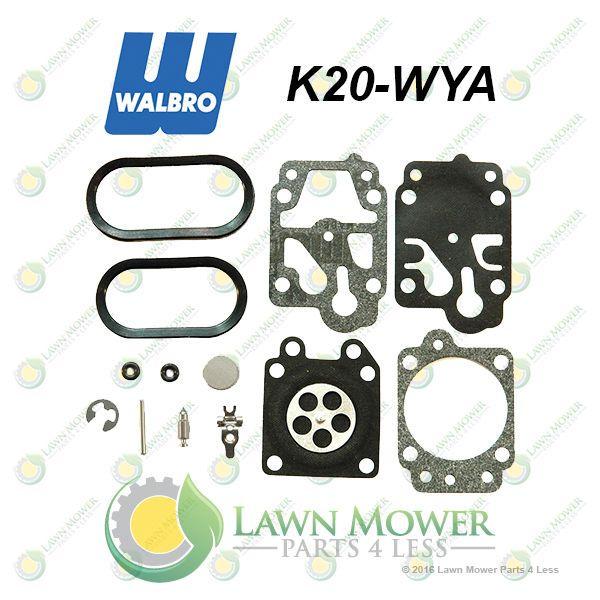 Genuine Walbro K20 Wya Carburetor Repair Kit Fits Wya Model