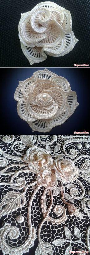 27 Trendy crochet lace irish knitting #irishcrochetflowers