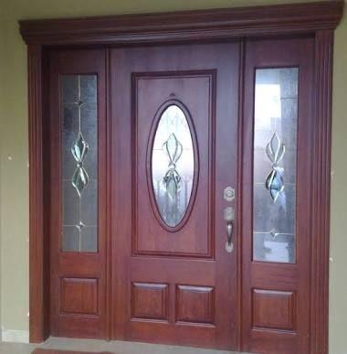 Resultado de imagen para puertas principales de madera - Modelos de puertas de madera para interiores ...