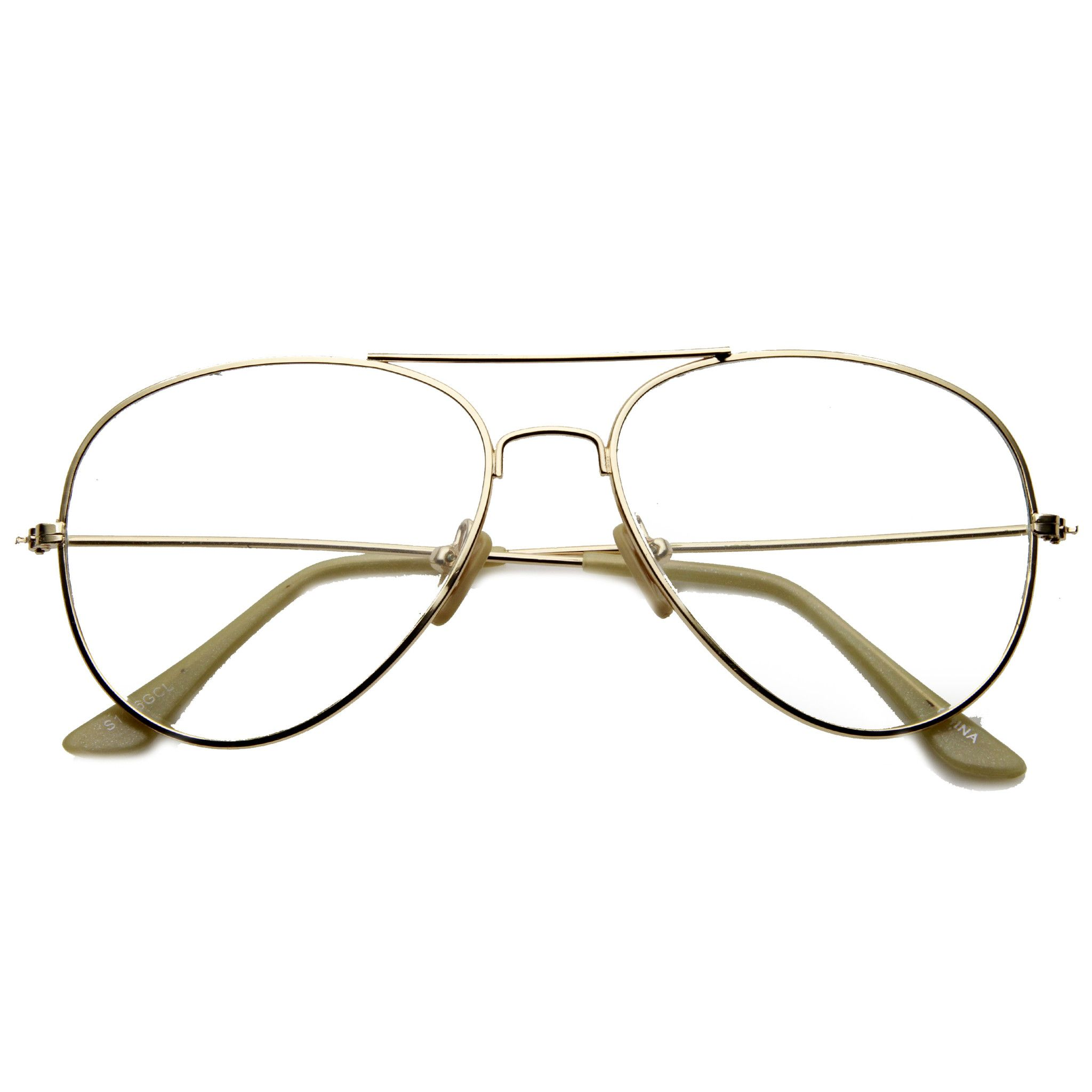 4919c94dd5fc Nickel Plated Tear Drop Wire Frame Basic Metal Clear Lens Aviator Glasses  #frame #clear #bold #summer #sunglass #oversized #cateye #sunglasses  #mirrored # ...