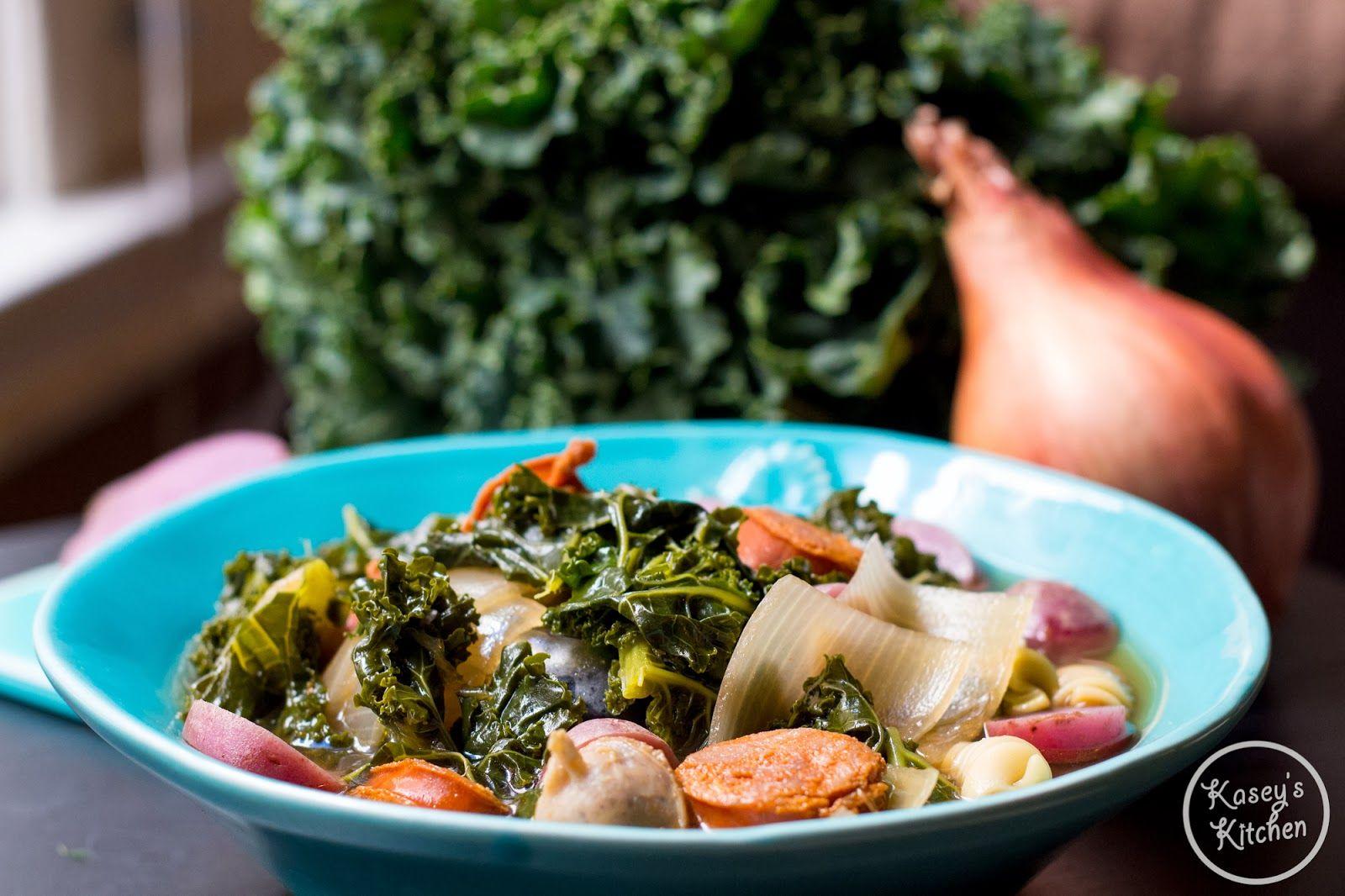 Kasey's Kitchen: Portuguese Kale Soup Recipe