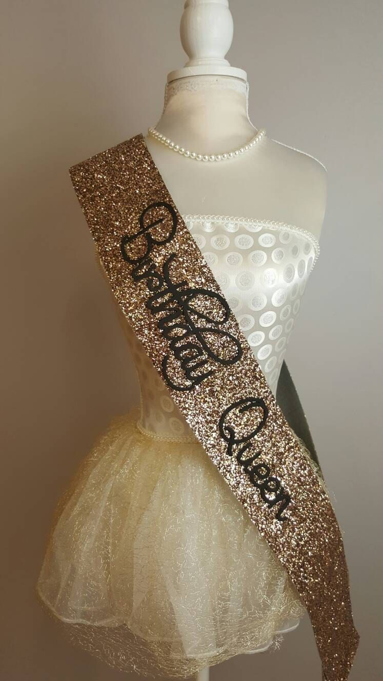 3b699d03 Beautiful handmade gold glitter Birthday Sash There are colour choices for  this product;black, Silver, gold and pink Please ensure that you select the  ...