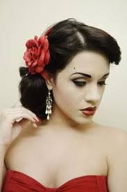 Image Result For Spanish Hairstyles Mexican Hairstyles Spanish Hairstyles Vintage Hairstyles