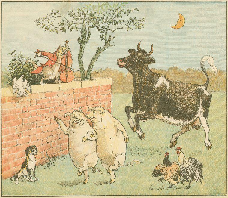 Public Domain Vintage Clip Art | Free Vintage Childrens Nursery ...