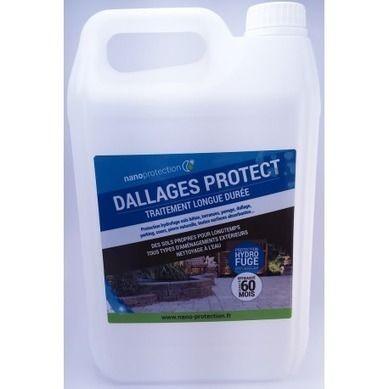 Hydrofuge oléofuge anti salissures pour dallages - LONGUE DUREE - Produit Nettoyage Mur Exterieur