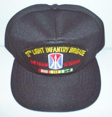 583817caf16 11TH LIGHT INFANTRY BRIGADE   VIETNAM VETERAN W RIBBON BALL CAP  HAT