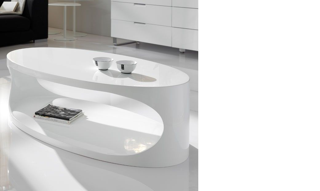 table basse ovale blanc laqu design egg table basse blanche table basse table basse ovale. Black Bedroom Furniture Sets. Home Design Ideas