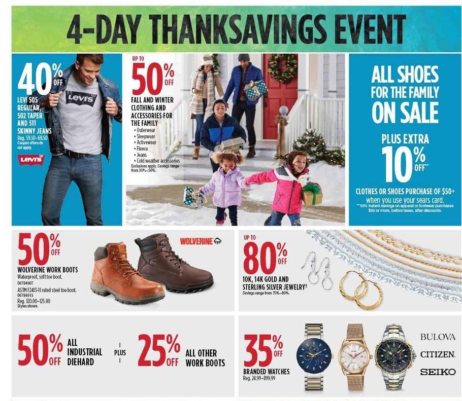 b06340cdee46ac Sears Black Friday 2018 Ads Scan