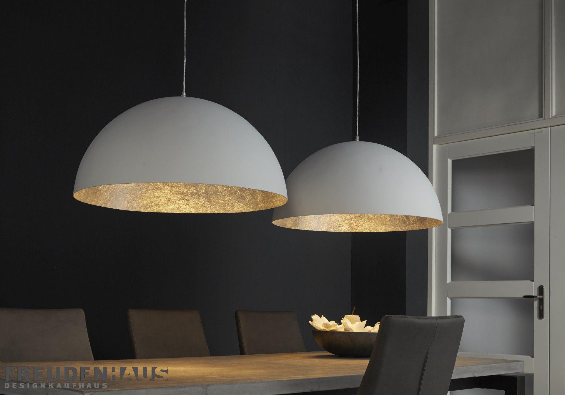 Glanz Und Extravaganz Factory Loft Style In Kombination Mit Glamourosem Gold Und Silber Das Ist Die Hangelampe Dotto Esszimmerlampe Lampen Wohnzimmer Lampen