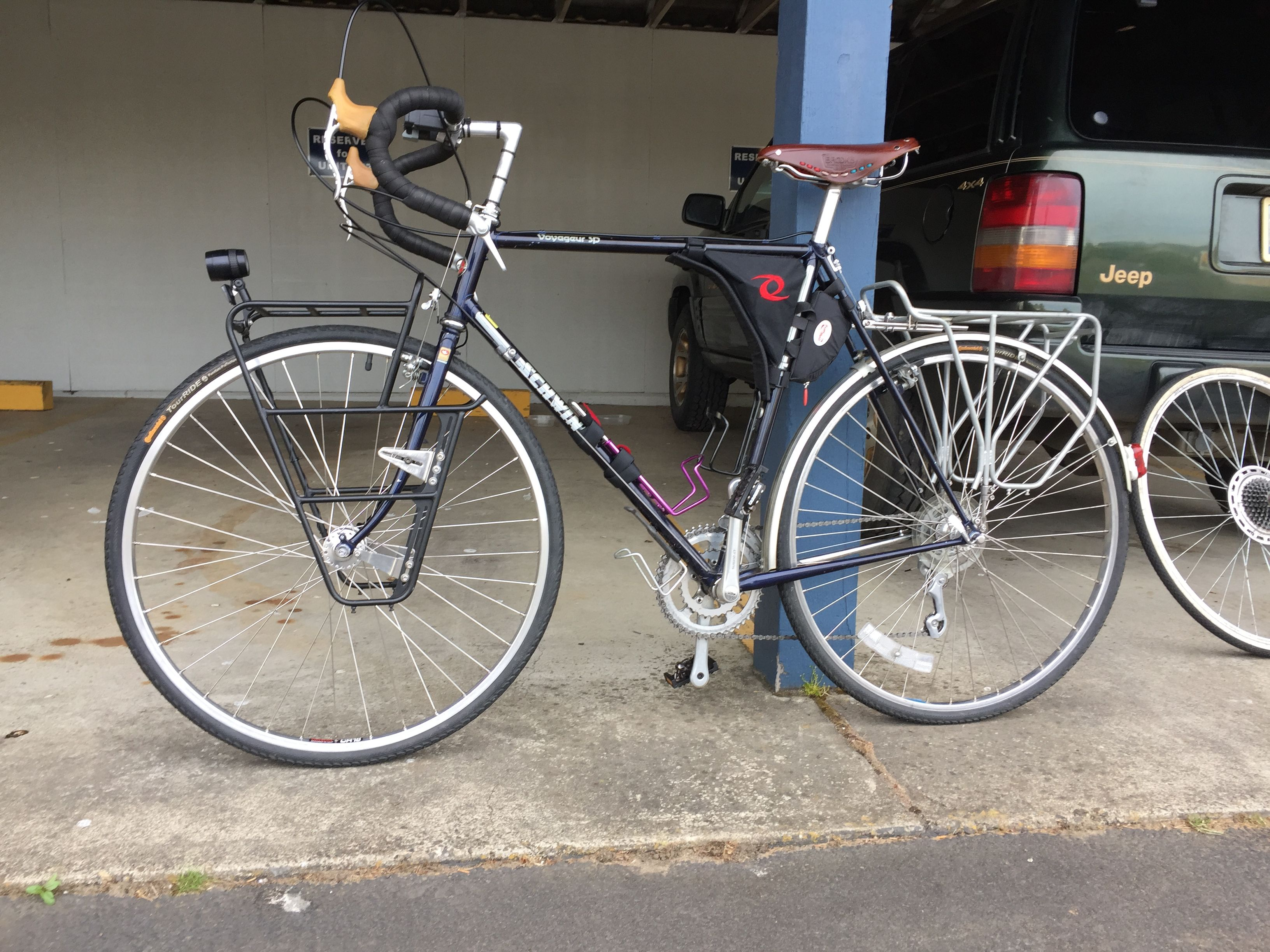 1985 Schwinn Voyageur sp Touring Bicycles 0971f7a77