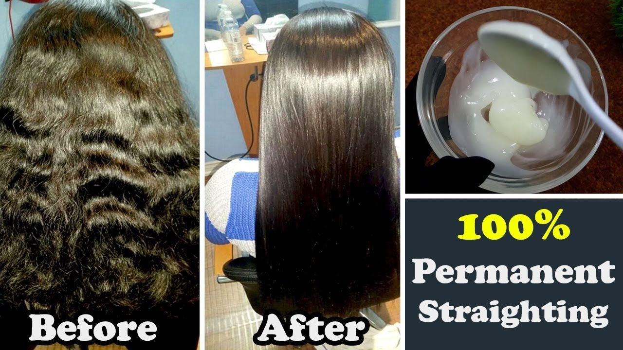 How to Straighten your Hair Permanently at Home Naturally