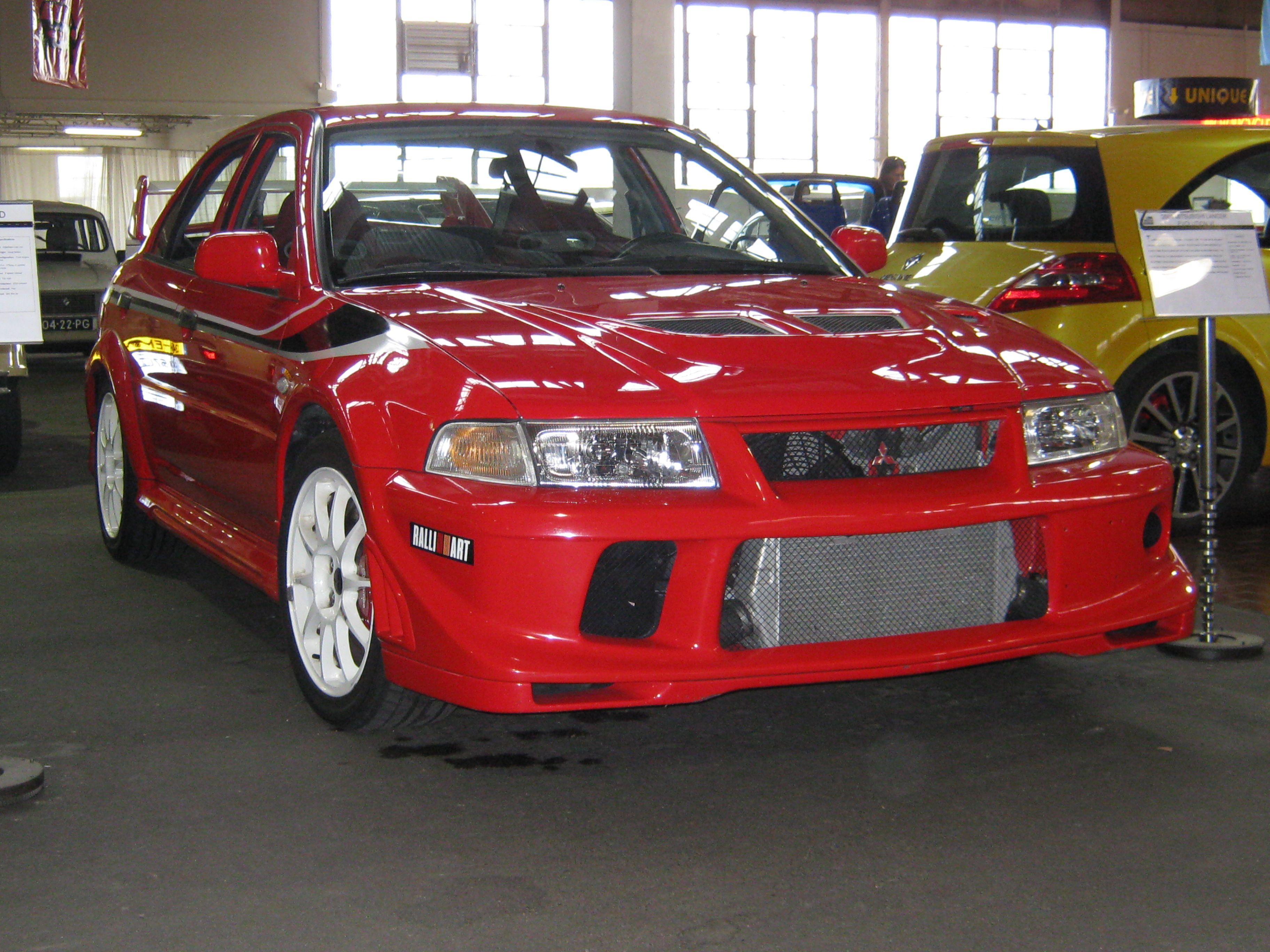 2001 Tommi Makinen Mitsubishi Lancer Evolution Vi