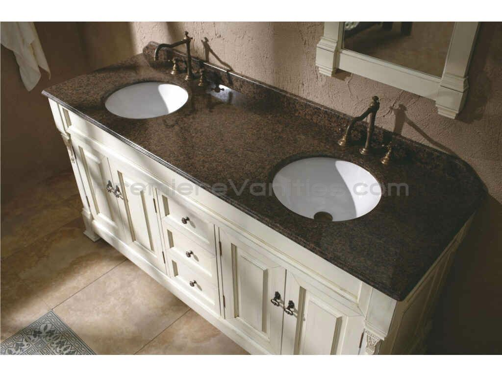 Tremendous 72 Inch Bathroom Countertop 72 Inch Antique White Double Home Interior And Landscaping Ologienasavecom
