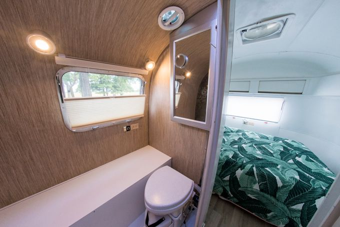 The Big Reveal My New Airstream Trailer Airstream Trailers Trailer Remodel Airstream Remodel