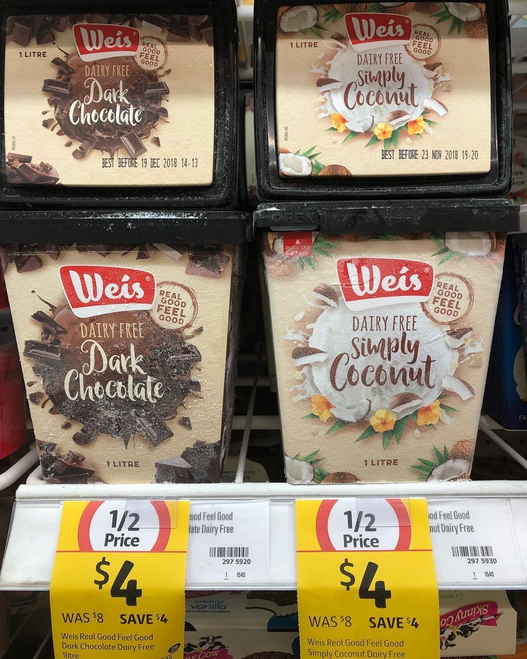 If you need a dairyfree alternative to ice cream have you