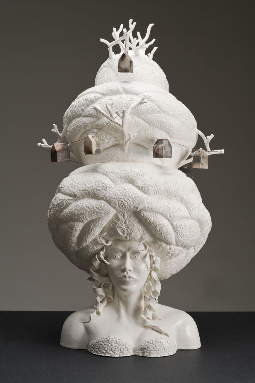 Klaus Gutowski Artist Epilogue Of The Abundance Of Beauty Mary Go Round Ceramics Photography By Greg Ack Ceramic Sculpture Sculpture Pottery Art