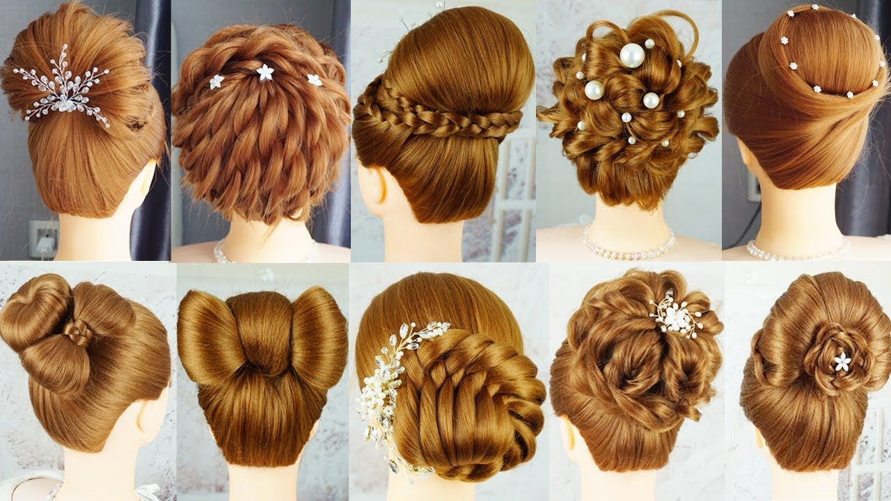 10 Beautyful Hairstyle With Clutcher Hairstyles Easy Hairstyle With Hair Tools French Hai In 2020 Easy Hairstyles French Hair Hair Styles