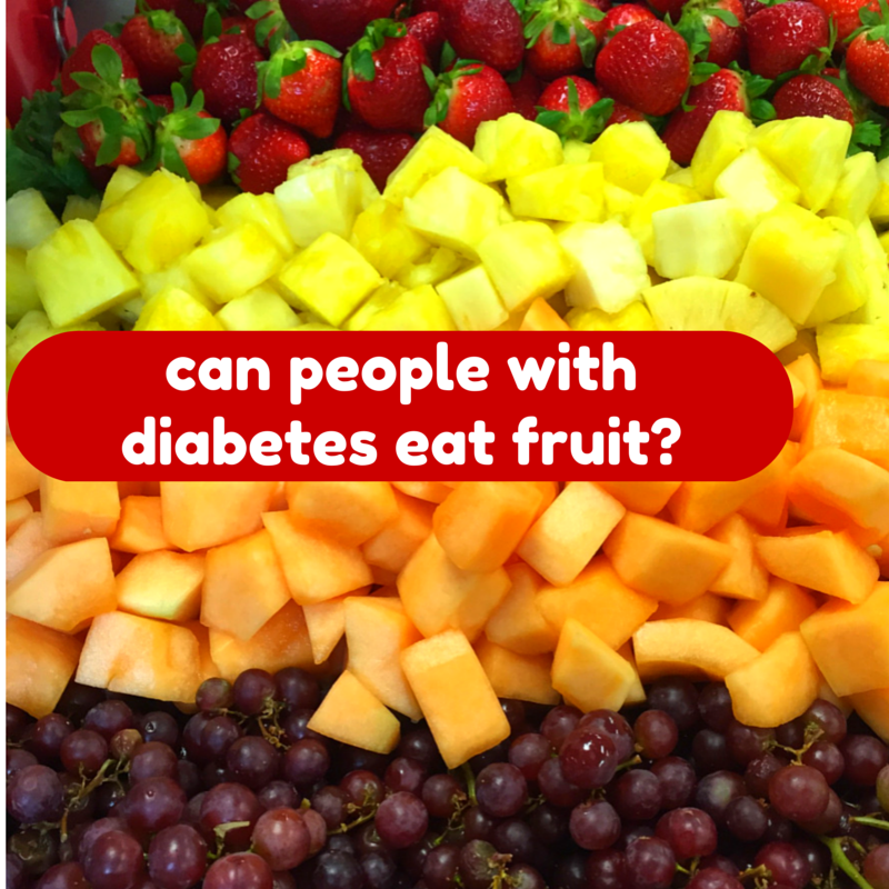 How bad is fruit for diabetics?