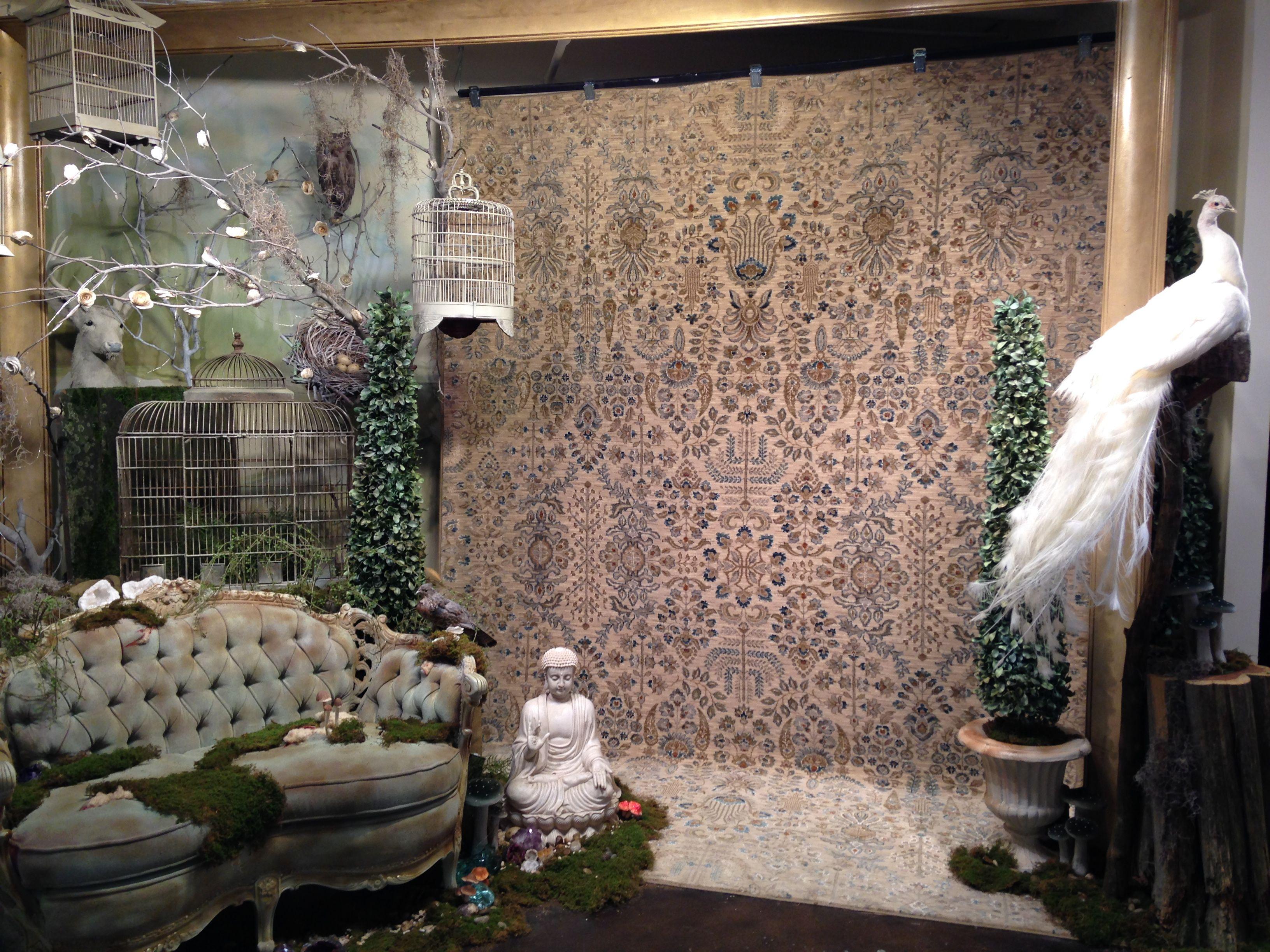 Karastan S Mystic Garden Rug Is A Collectors Item With