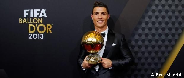 Real Madrid Cf Web Oficial Balón De Oro Cristiano Ronaldo Ronaldo