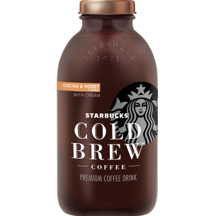 Starbucks Bottled Cold Brew Cocoa And Honey With Cream